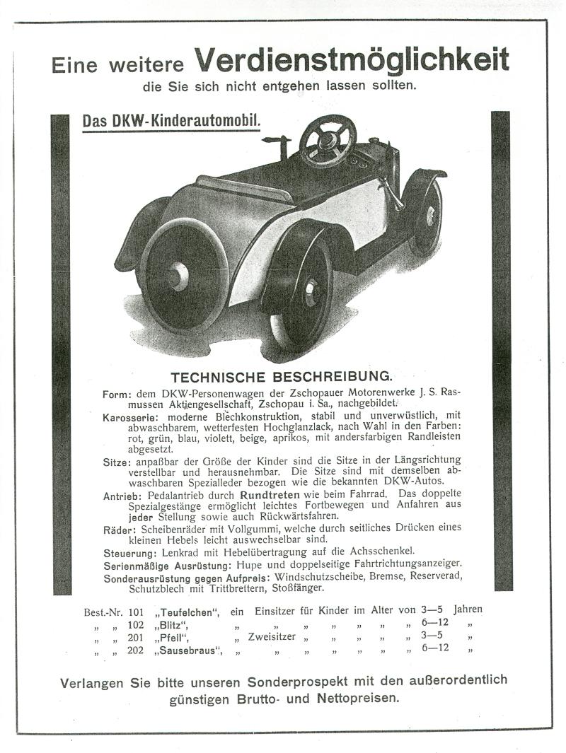 DKW Kinder Automobil