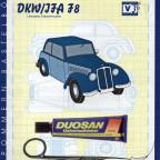 DKW / IFA F8 Bastelbogen