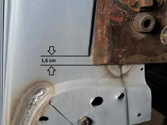 Motorhaube anpassen
