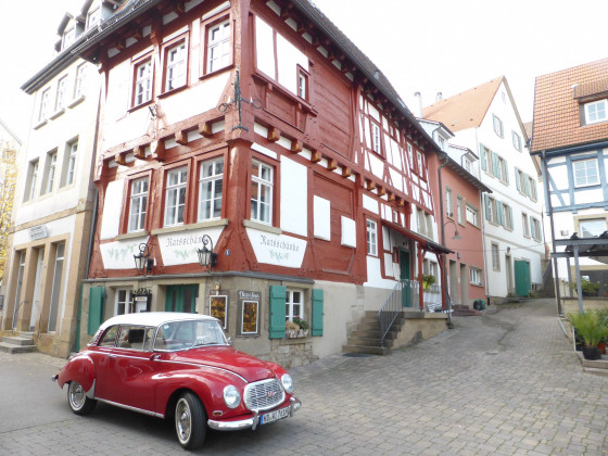 Ausflug nach Eppingen (Ratsschänke)