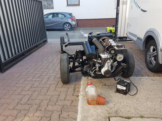 30 minuten motor test
