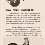 DKW - Kinder - Automobil