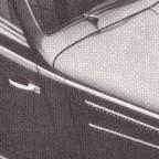 Detailansicht Motorhaube Export-Cabrio