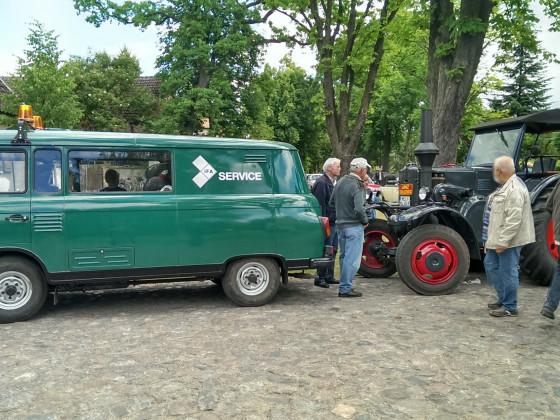 Oldtimertreffen beim Schöneicher Heimatfest 2014