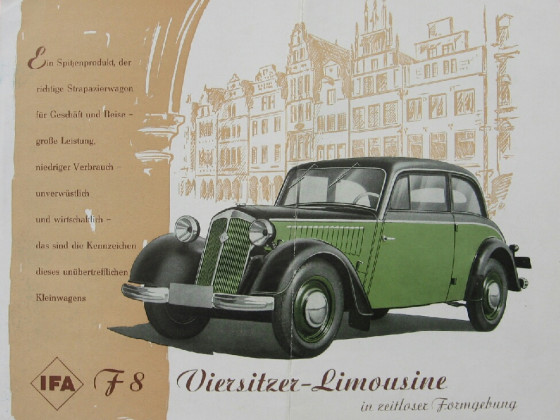 Prospekt IFA F8 Limousine