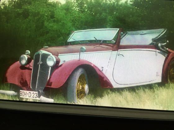 Mein Vaters erstes Auto Bj 36