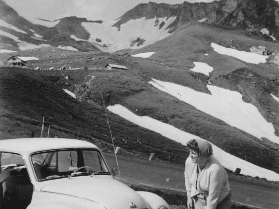 Mit dem F 94 in den Bergen.
